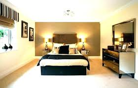 Black White And Gold Themed Bedroom Go Modern And Luxurious With ...