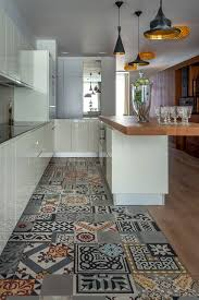 Unique Kitchen Floors Patchwork Cement Tile Kitchen Remodeling Ideas Pinterest