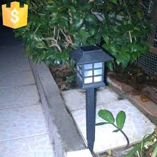 Lighting  Solar Power Led Black Outdoor Lamp Post With Planter Solar Outdoor Lights India