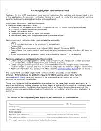 employment dates verification 20 letter of verification examples pdf examples