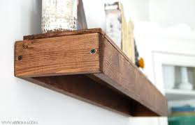 How To Make Floating Shelves From Solid Wood Inspiration How To Build Floating Shelves Floating Shelves Diy Floating Shelves