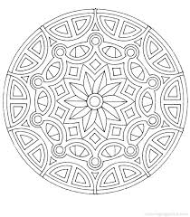 Mandalas To Color For Kids Free Printable Mandala Coloring Pages For