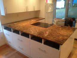 quartz countertop saffron granite
