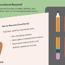 Definition Of Functional Resumes What Is A Functional Resume