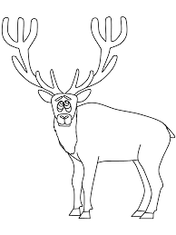 Small Picture Animals Elk Coloring Pages Coloring Book