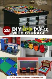 are you tired of stepping on lego everywhere i am and it s inspired me to collect the best diy lego table ideas with storage that i could find
