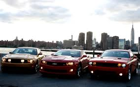 Muscle Car Wars Camaro Vs Challenger Vs Mustang