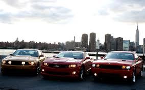 Muscle Car Wars Camaro Vs Challenger Vs Mustang