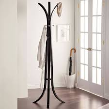 Umbrella Stand With Coat Rack Winsome Classic Wooden Standing Coat Rack Hayneedle 35