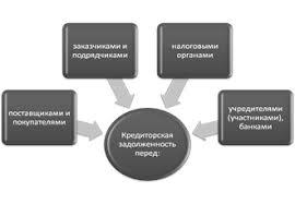 Дипломная работа Дебиторская и кредиторская задолженности  Рисунок 2 Структура кредиторской задолженности предприятия