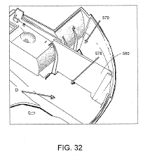 Autonomous surface cleaning robot for wet and dry cleaning patent 2298149