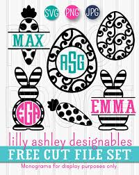 Free Easter Cricut Designs Free Easter Svg Files Cricut Monogram