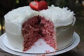 Summer Strawberry Coconut Cake Makes A Great Birthday Cake For