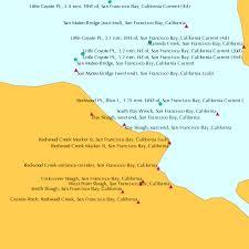 Bay Slough East End San Francisco Bay California Tide Chart