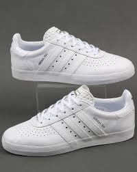 adidas 350 trainers white