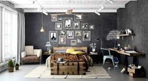 industrial style bedroom furniture. Apartments Entrancing Industrial Bedroom Designs Home Design Style Furniture O