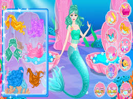 barbie dress up mermaid princess dress up show barbie doll beauty games free kids games