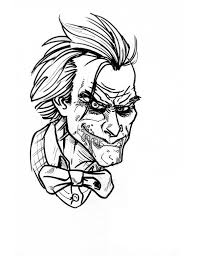 Some joker coloring may be available for free. Joker Coloring Page Netart