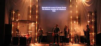 scrim tower lights from the crossing in keokuk ia church stage design ideas church lighting ideas u62 church