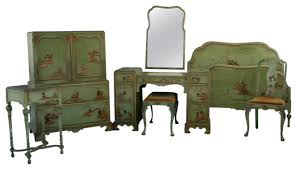 1920s Chinoiserie Bedroom Set   Asian   Bedroom Furniture Sets   By .