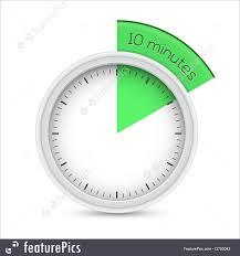 10 Minuite Timer Illustration Of 10 Minutes Timer