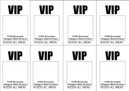 Free Vip Pass Template Free Vip Pass Template Oloschurchtp 1
