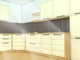 Kitchen Stick On Backsplash How To Install A Kitchen Backsplash With Pictures Wikihow