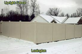Vinyl Fences Wood Steel and Aluminum Fencing by Upright Fence of