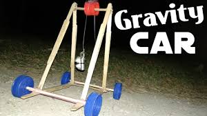 Gravity Powered Car Designs How To Make A Gravity Powered Car Diy Falling Weight Car