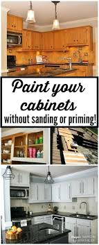 how to paint kitchen cabinets without sanding extraordinary can you paint kitchen cabinets without sanding painting