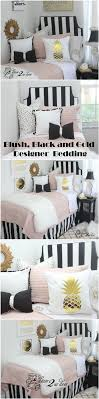 Pink And Black Bedroom Accessories 17 Best Ideas About Black Bedding On Pinterest Black Bedroom