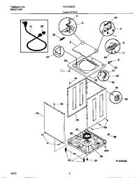 Frigidaire model f21c235cs1 residential washers genuine parts
