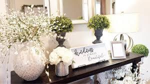 entryway table decor ideas decorate