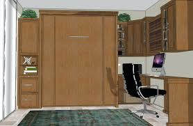 murphy bed home office combination. Home Office Wall Bed Murphy Combination 1 E