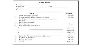 Work Meeting Agenda Sample Department Meeting Agenda Format Assignment Point