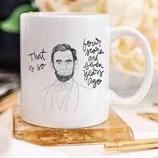 gifts for professors abe mug