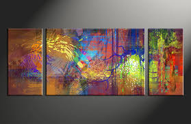 large abstract wall art canvas