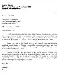 Letter Of Invitation Visa 9 Sample Invitation Letters For Visa Pdf