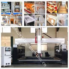 granite countertop cutting machine 5 axis cnc stone cutting milling machine