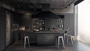 36 stunning black kitchens that tempt