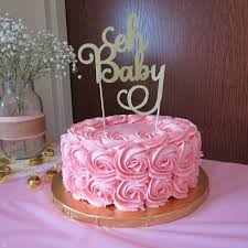 Simple Baby Shower Cakes Cakes Design