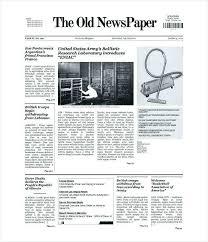 Newspaper Template Illustrator Illustrator Newspaper Template Nosugarcoating Info