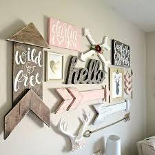 baby wall decor woodland baby girl nursery baby boy wall decor ideas