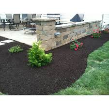 Small Picture Landscape Design Install around a patio retaining wall