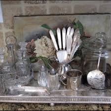 Decorating With Silver Trays 100 best silver tray wall display images on Pinterest Silver 28