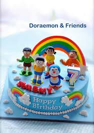 Doraemon And Friends Cake Cartoon Doraemon Friends Cake