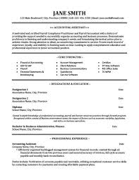Accounting Assistant Resume Template Premium Resume Samples