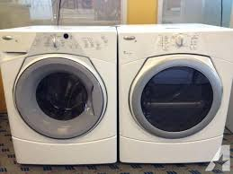 used front load washer and dryer. Simple Used Whirlpool Duet Set Front Load Washer Dryer Pair Used For  With And A