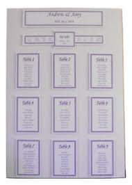 Wedding Seating Plan Chart Details About Wedding Seating Plan Table Planner Chart A2 A3 Personalised Various Colours