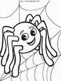 Cute Halloween Coloring Pages For Kids Halloween Cute Coloring Sheet Fall Coloring Pages Free